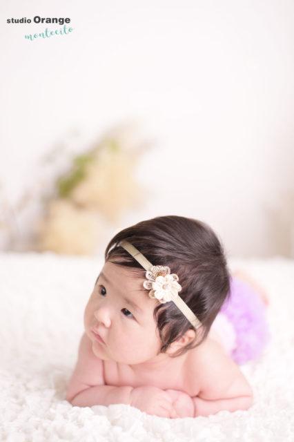 宝塚市 お宮参り 3ヶ月女の子