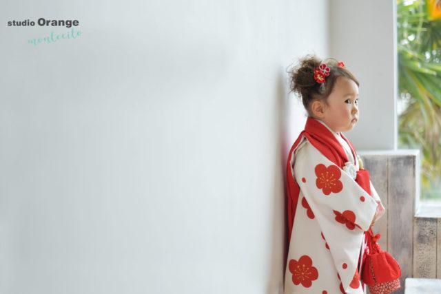 宝塚市 七五三 2歳女の子 3歳女の子 着物 和装