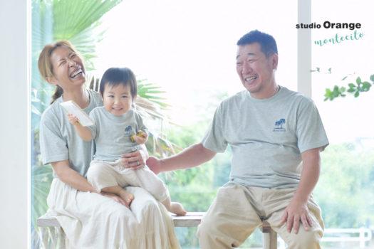誕生日 宝塚市 写真館 川西市 家族写真 スタジオオレンジモンテシート