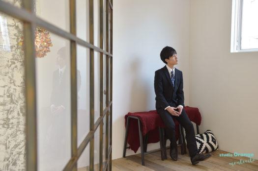 宝塚市 男性成人式 スーツ