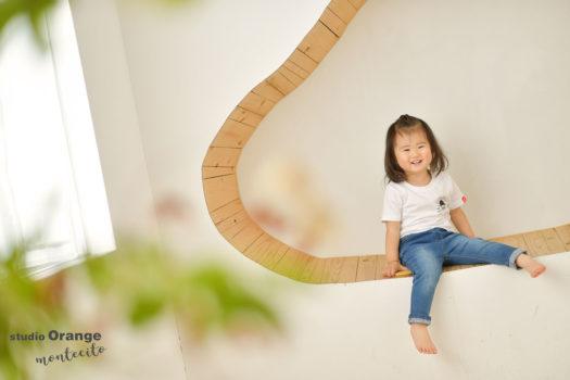 箕面市 1歳女の子 お誕生日撮影
