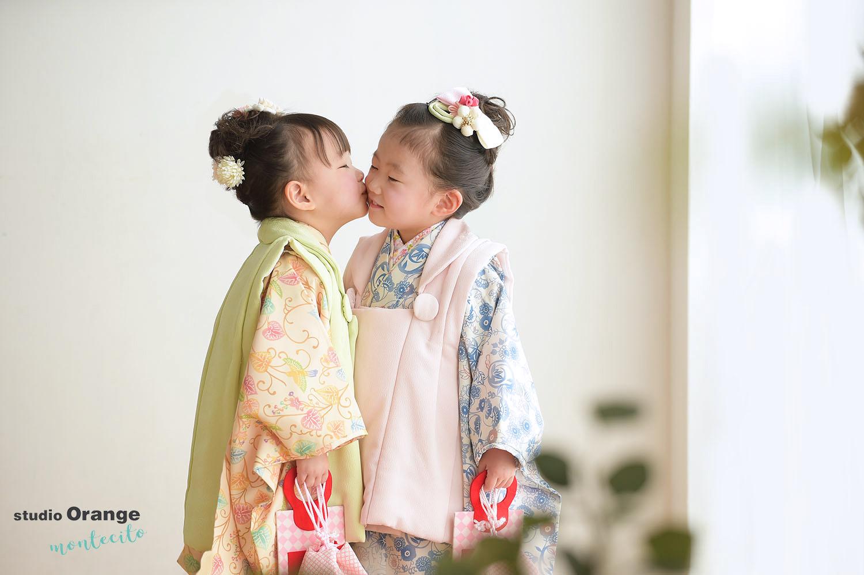 宝塚市 七五三 双子 女の子