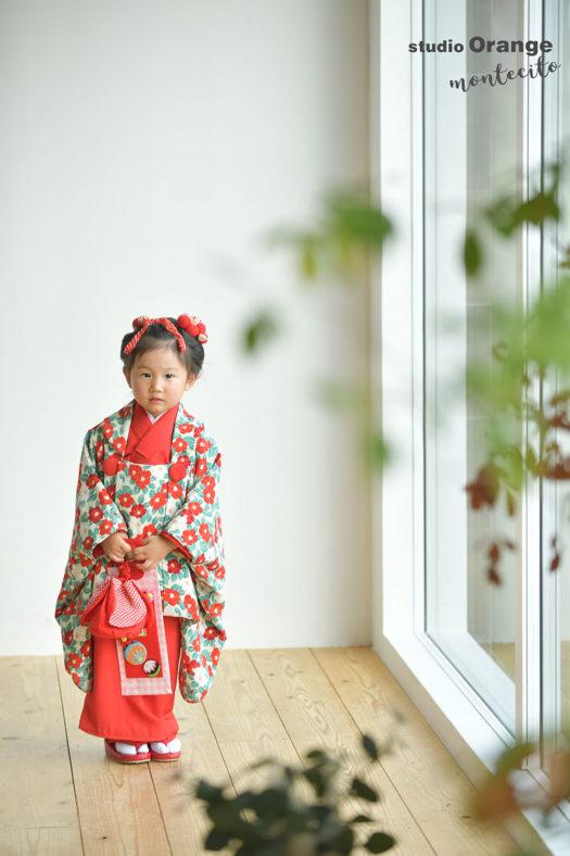 宝塚市 3歳女の子 七五三撮影 和装