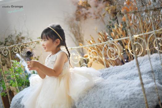 宝塚市 3歳女の子 七五三撮影 洋装