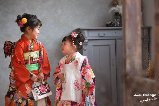 宝塚市 七五三撮影 3歳女の子