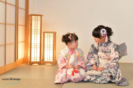 川西市 3歳女の子 七五三撮影