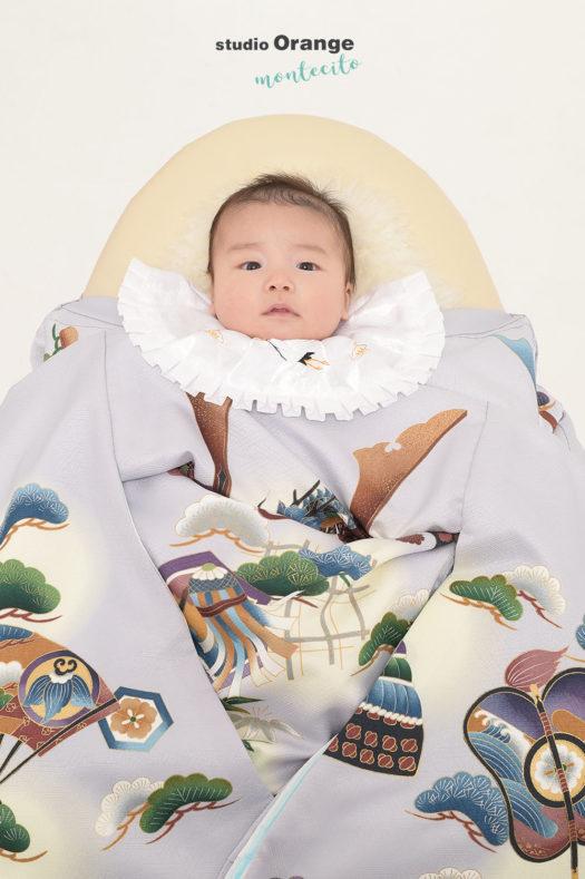 茨木市 2ヶ月男の子 お宮参り
