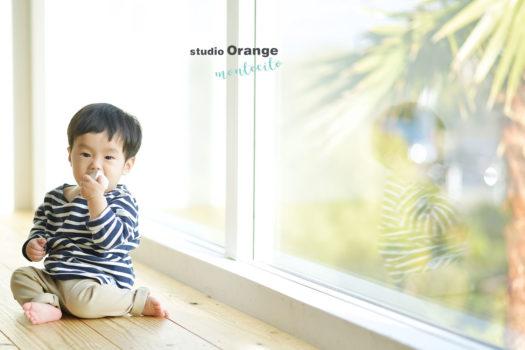 神戸市 1歳男の子 お誕生日撮影