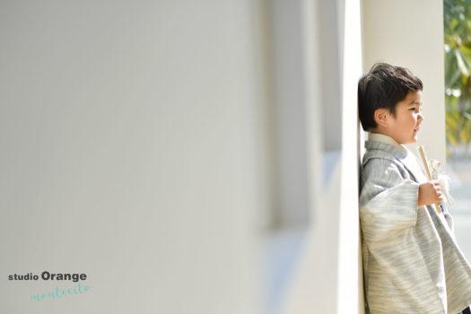神戸市 3歳男の子 七五三撮影