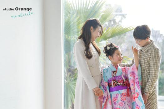 宝塚市 7歳女の子 七五三撮影