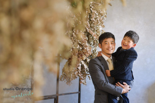 川西市 5歳男の子 七五三