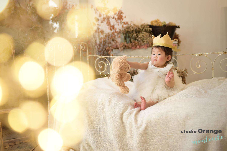 尼崎市 1歳女の子 お誕生日