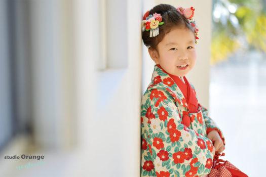 宝塚市 3歳女の子 七五三 着物