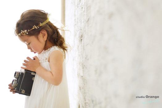 宝塚市 3歳女の子 七五三 ドレス