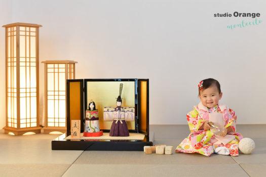 宝塚市 1歳女の子 桃の節句