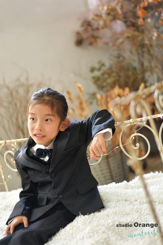 宝塚市 5歳男の子 七五三 洋装