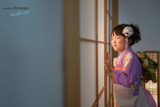 宝塚市 七五三 持込着物 7歳女の子