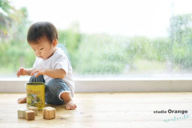 川西市 1歳 女の子 お誕生日撮影