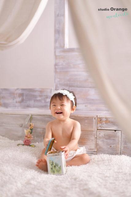 川西市 1歳 女の子 バースデー