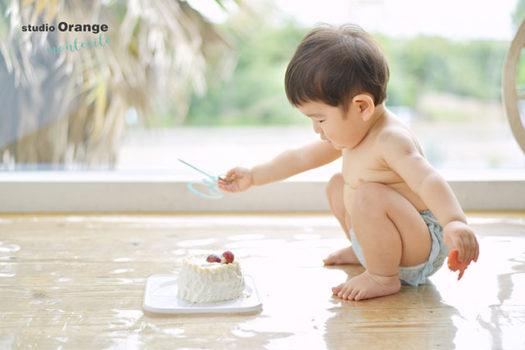 宝塚市 お誕生日 スマッシュケーキ