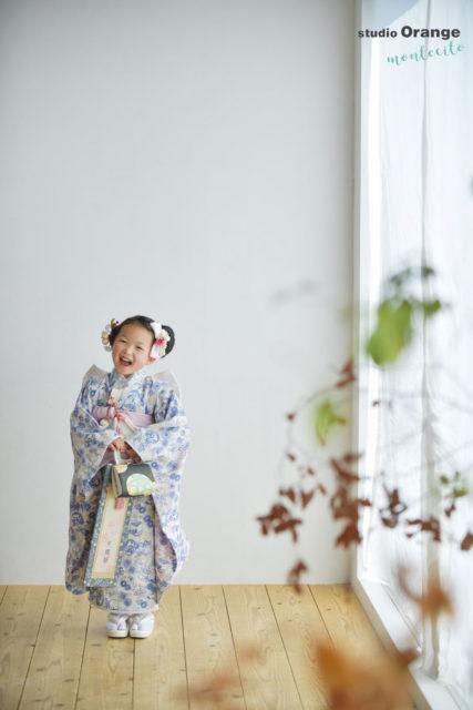 七五三 お参り 7歳女児 オリジナル