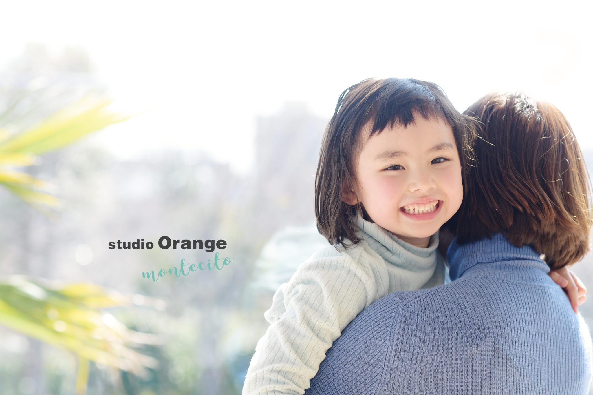 伊丹市 5歳女の子 お誕生日 家族撮影