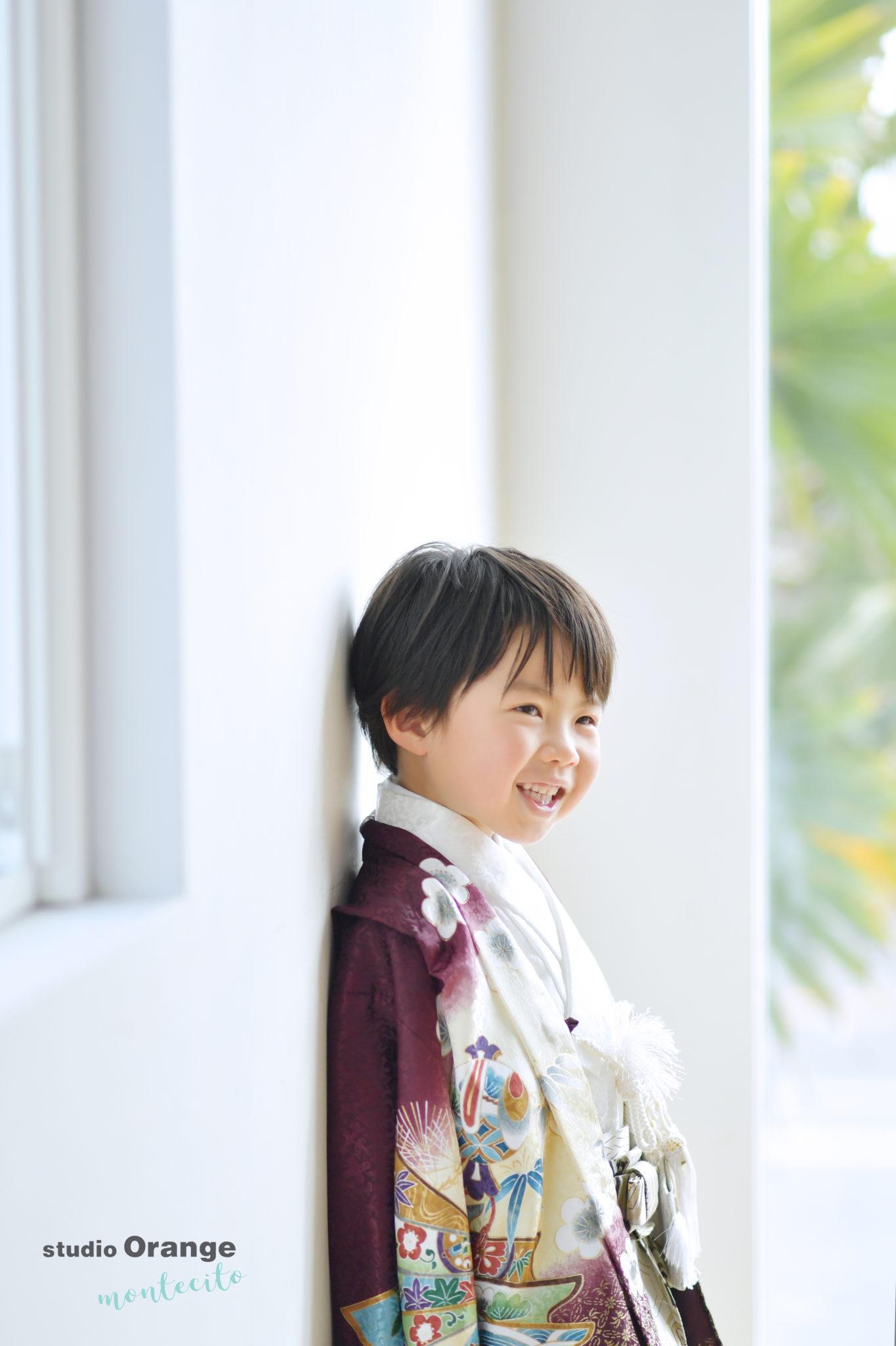 池田市 5歳男の子 七五三