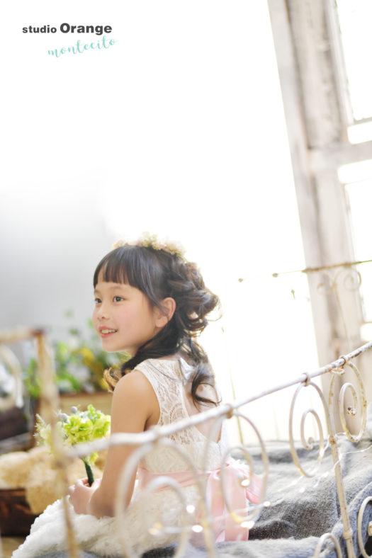 宝塚市 7歳女の子 洋装 七五三撮影