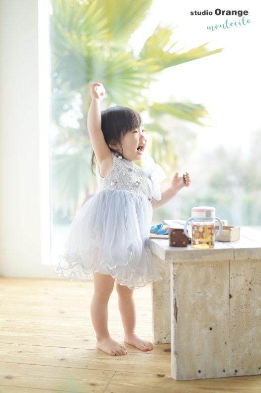 川西市 2歳女の子 お誕生日