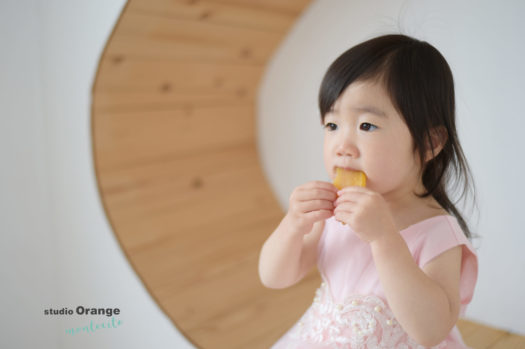 川西市 2歳女の子 バースデー