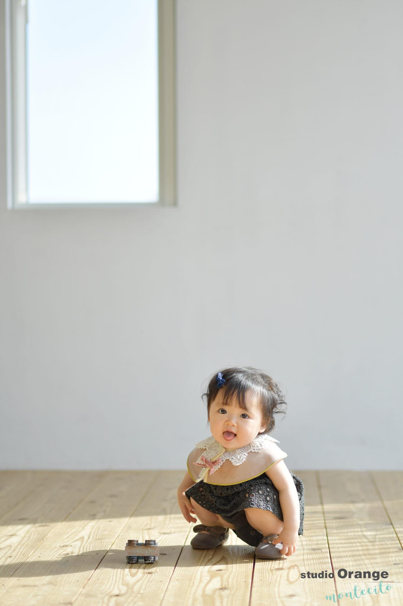 川西市 1歳女の子 お誕生日