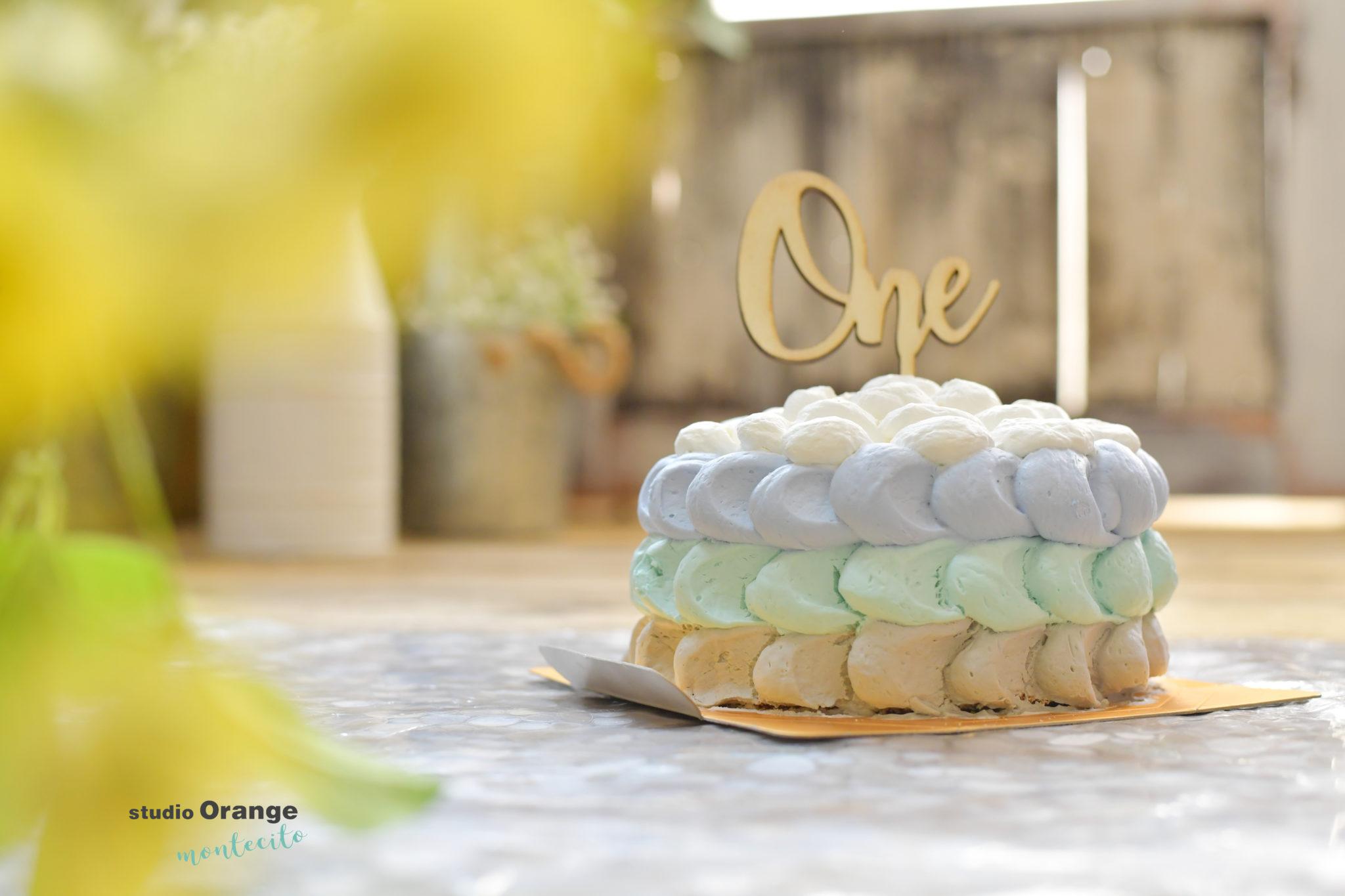 西宮市 1歳男の子 お誕生日 スマッシュケーキ