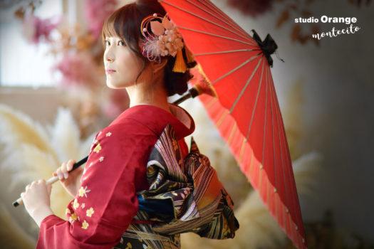 成人 前撮り 後撮り 宝塚市 写真館 スタジオオレンジモンテシート